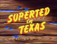 SuperTed in Texas (1984) Title Card