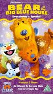 Bear in the Big Blue House - Everybody's Special (UK) VHS