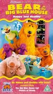 Bear In The Big Blue House- Happy And Healthy (Vhs) UK