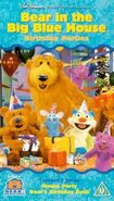 Bear In The Big Blue House- Birthday Parties -VHS- (UK)