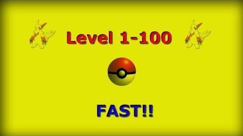 Pokemon Black & White Level 1-100 FAST!!