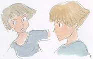 Lisa original sketches