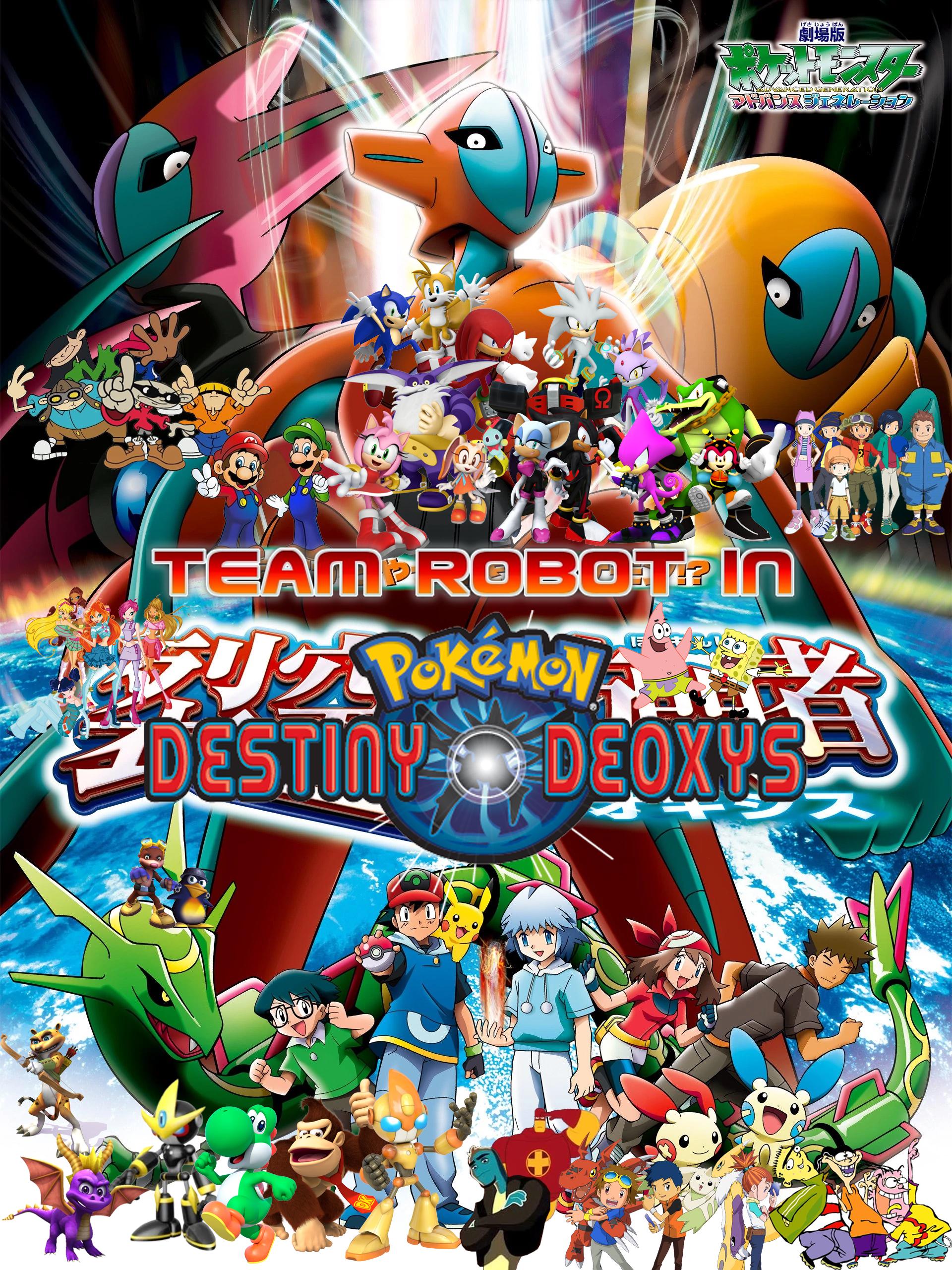 Team Robot In Pokémon Destiny Deoxys Pooh S Adventures Wiki Fandom