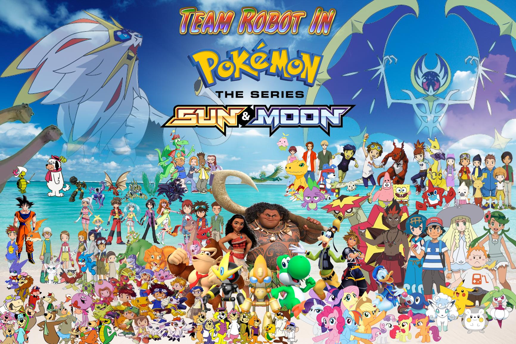 Team Robot In Pokemon Sun Moon The Series Pooh S Adventures Wiki Fandom