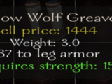 Shadow Wolf Greaves
