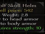 Wolf Skull Helmet