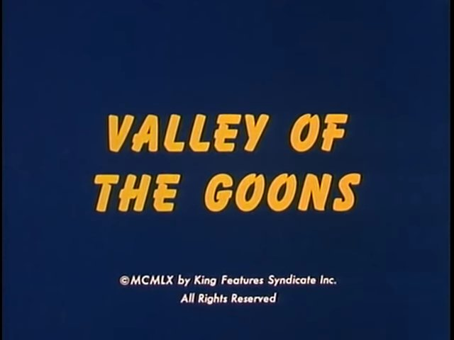 The Valley of the Goons