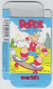 Popeye Candy Sticks Box - 02 - Blue Box - Skateboard - Front