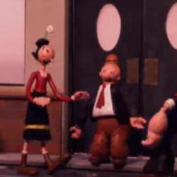 Robot Chicken's Popeye segments