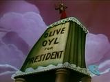 Olive Oyl for President