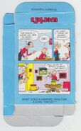 Popeye Candy Sticks Box - 02 - Blue Box - Skateboard - Back