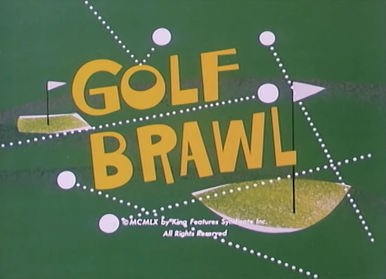 Golf Brawl