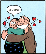 Nana and Cole in IDW Issue 2 The Worm Returns