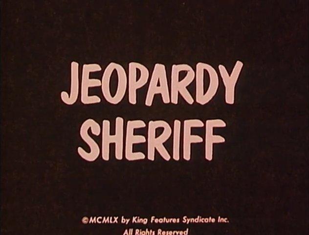 Jeopardy Sheriff