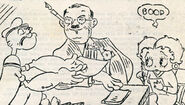 Fleischer with Popeye and Betty Boop