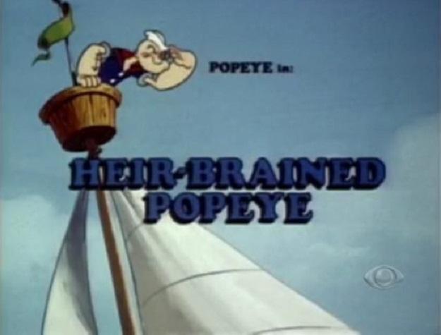 Heir-Brained Popeye