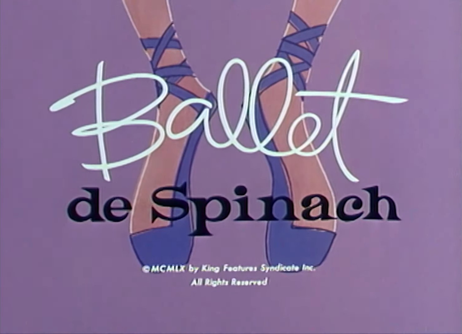 Ballet de Spinach