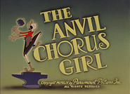 The Anvil Chorus Girl