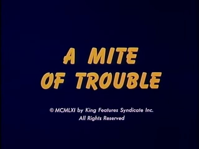 A Mite of Trouble