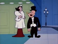 Popeye and Olive All Fancy