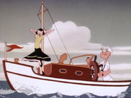Popeye Setting Sail