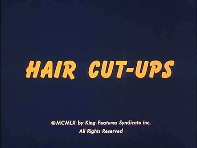Hair Cut-Ups