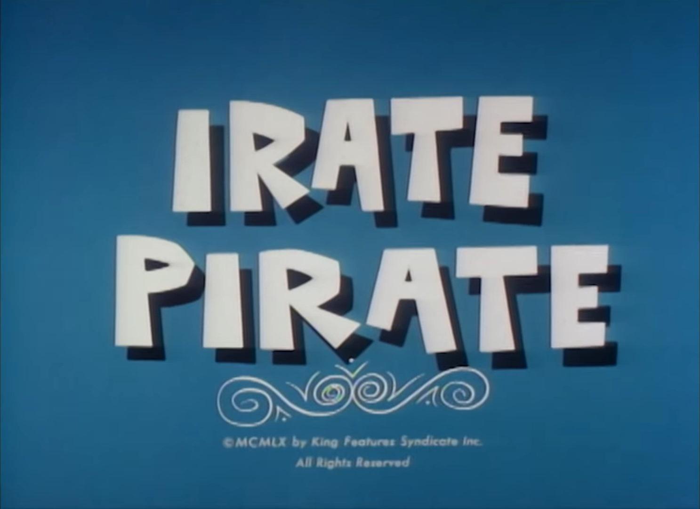 Irate Pirate