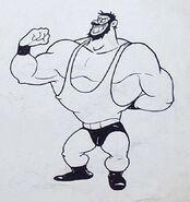 Bluto Quick on the Vigor Storyboard