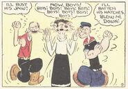 Popeye vs Ham Gravy