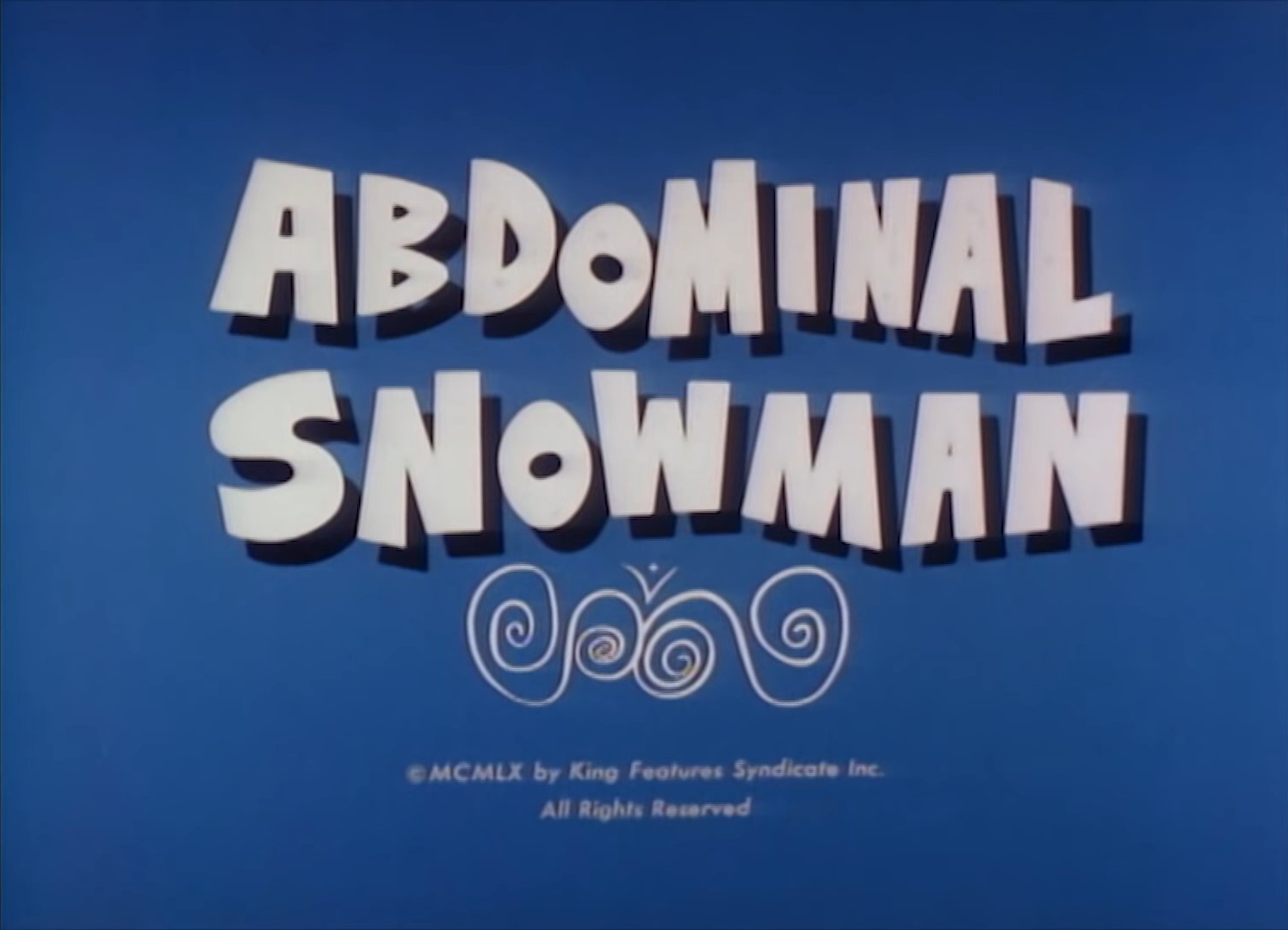 Abdominal Snowman