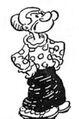 Popeye's mother