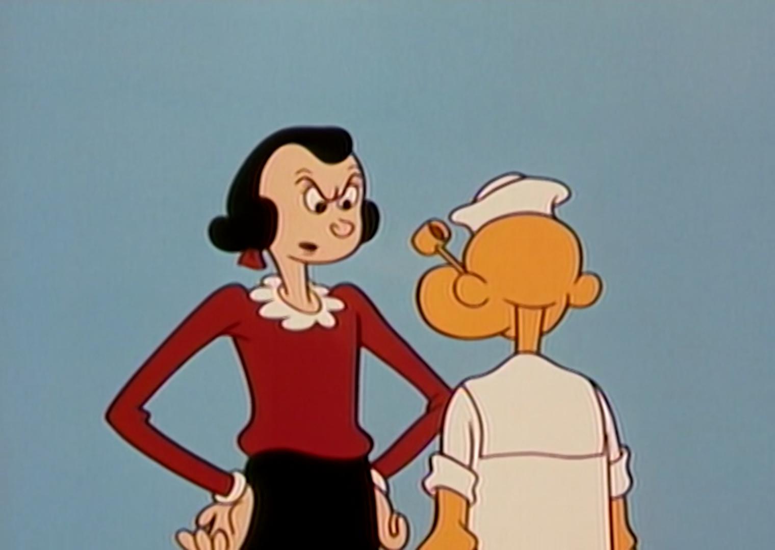 Bird Watcher Popeye