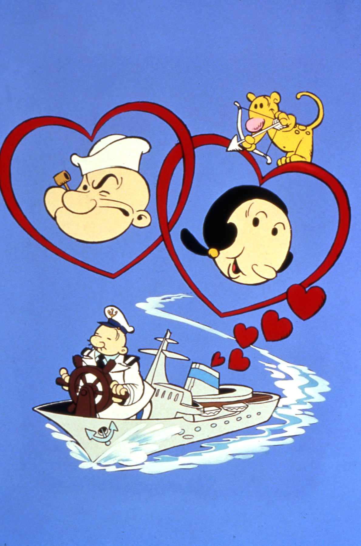 The Popeye Valentine Special: Sweethearts at Sea