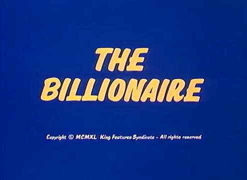The Billionaire
