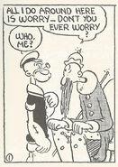 King Blozo's worry