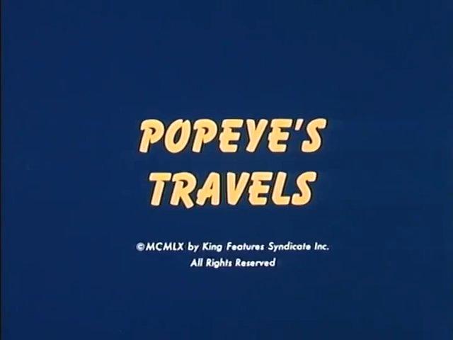 Popeye's Travels