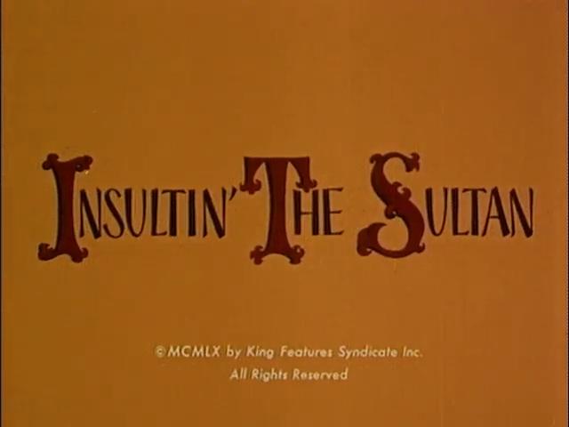 Insultin' the Sultan