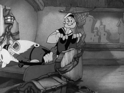 Popeye Meets Rip Van Winkle