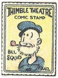 Bill Squid stamp