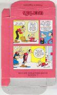 Popeye Candy Sticks Box - 32 - Pink Box - BMX - Back