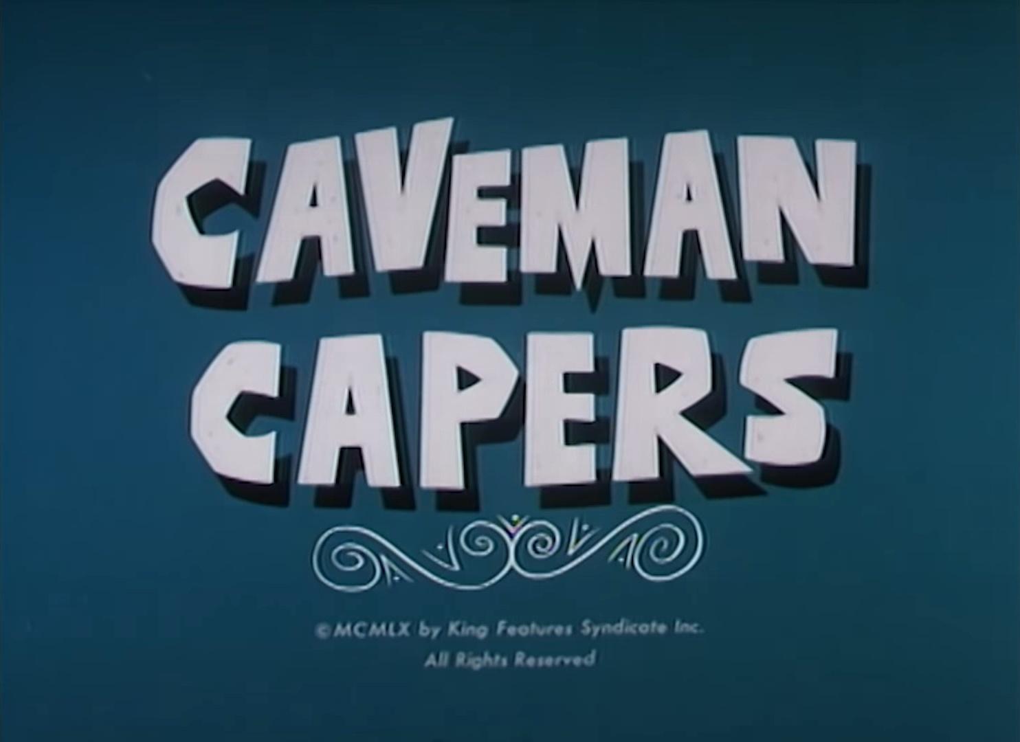 Caveman Capers