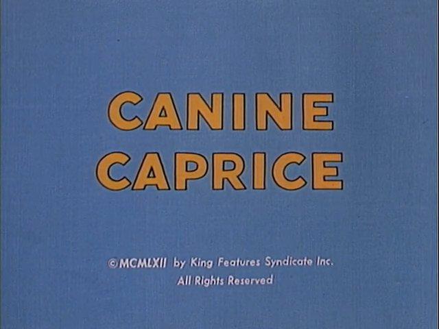 Canine Caprice