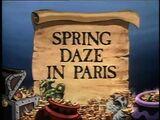Spring Daze in Paris