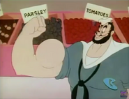 Bluto's Big Muscles