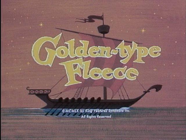 Golden-Type Fleece