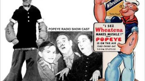 Popeye Medley – Floyd Buckley and Olive Lamoy – 1936 Part 2