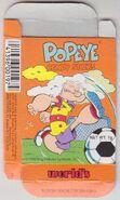 Popeye Candy Sticks Box - 03 - Orange Box - Soccer - Front