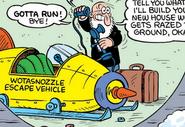 Wotasnozzle Escape Vehicle