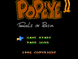 Popeye II: Travels in Persia