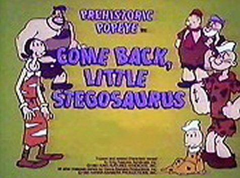 Come Back, Little Stegosaurus